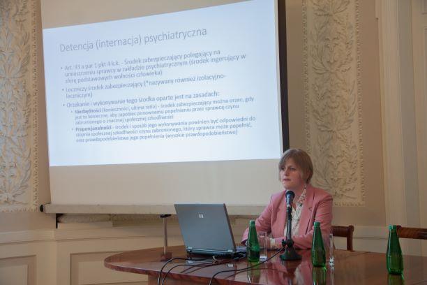 Aleksandra Paluch-Gęgała o detencji psychiatrycznej